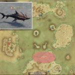 トビザメ - 紅玉海の敵生息場所とドロップ素材(FF14 敵素材マップ:紅蓮エリア)