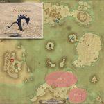 タツノコ - 紅玉海の敵生息場所とドロップ素材(FF14 敵素材マップ:紅蓮エリア)