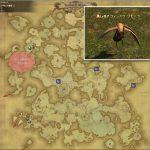 ウィンドウ・ワモーラ - アバラシア雲海の敵生息場所とドロップ素材(FF14 敵素材マップ:蒼天エリア)
