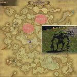 グランズキーパー - アバラシア雲海の敵生息場所とドロップ素材(FF14 敵素材マップ:蒼天エリア)