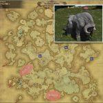 ウィセント - アバラシア雲海の敵生息場所とドロップ素材(FF14 敵素材マップ:蒼天エリア)