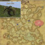 サヌワ - アバラシア雲海の敵生息場所とドロップ素材(FF14 敵素材マップ:蒼天エリア)