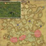 ゲイラキャット - アバラシア雲海の敵生息場所とドロップ素材(FF14 敵素材マップ:蒼天エリア)