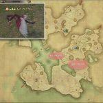 ムニ・ベニツノ - ヤンサの敵生息場所とドロップ素材(FF14 敵素材マップ:紅蓮エリア)ベニツノの笹身