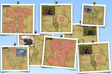 FF14 全敵配置マップとドロップ素材一覧【紅蓮・蒼天・新生 敵画像付き】