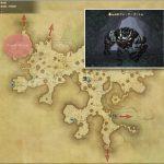 クレーターゴーレム - 黒衣森:中央森林の敵生息場所とドロップ素材(FF14 敵素材マップ:新生エリア)