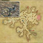 アノール - 黒衣森:中央森林の敵生息場所とドロップ素材(FF14 敵素材マップ:新生エリア)