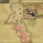 マーモット - 中央ザナラーンの敵生息場所とドロップ素材(FF14 敵素材マップ:新生エリア)