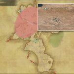 サーフィド・クラウド - 中央ザナラーンの敵生息場所とドロップ素材(FF14 敵素材マップ:新生エリア)