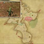 コチニールカクター - 中央ザナラーンの敵生息場所とドロップ素材(FF14 敵素材マップ:新生エリア)