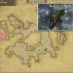バリトンダイル - クルザス中央高地の敵生息場所とドロップ素材(FF14 敵素材マップ:新生エリア)