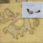チンチラ - クルザス中央高地の敵生息場所とドロップ素材(FF14 敵素材マップ:新生エリア)