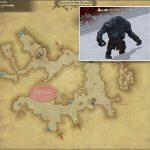 ジャイアント・リーダー - クルザス中央高地の敵生息場所とドロップ素材(FF14 敵素材マップ:新生エリア)