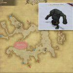 ジャイアント・ラガー - クルザス中央高地の敵生息場所とドロップ素材(FF14 敵素材マップ:新生エリア)