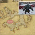 ジャイアント・ロガー - クルザス中央高地の敵生息場所とドロップ素材(FF14 敵素材マップ:新生エリア)