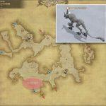 スノウウルフ - クルザス中央高地の敵生息場所とドロップ素材(FF14 敵素材マップ:新生エリア)