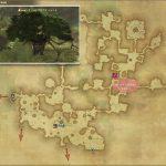 オールドグロウス・トレント - 黒衣森:東部森林の敵生息場所とドロップ素材(FF14 敵素材マップ:新生エリア)