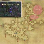 シルフィード・スナール - 黒衣森:東部森林の敵生息場所とドロップ素材(FF14 敵素材マップ:新生エリア)