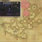 ヴァイオレット・スナール - 黒衣森:東部森林の敵生息場所とドロップ素材(FF14 敵素材マップ:新生エリア)