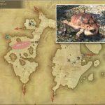 ギガントード - 東ラノシアの敵生息場所とドロップ素材(FF14 敵素材マップ:新生エリア)