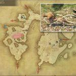 ジャングルクァール - 東ラノシアの敵生息場所とドロップ素材(FF14 敵素材マップ:新生エリア)