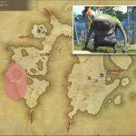 グゥーブー - 東ラノシアの敵生息場所とドロップ素材(FF14 敵素材マップ:新生エリア)