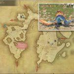 ジャイアントペリカン - 東ラノシアの敵生息場所とドロップ素材(FF14 敵素材マップ:新生エリア)