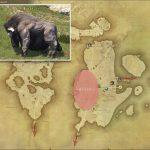 バッファロー - 東ラノシアの敵生息場所とドロップ素材(FF14 敵素材マップ:新生エリア)
