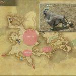 ミオトラグス・ビリー - 東ザナラーンの敵生息場所とドロップ素材(FF14 敵素材マップ:新生エリア)
