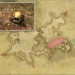 ゴールデンフリース - 東ザナラーンの敵生息場所とドロップ素材(FF14 敵素材マップ:新生エリア)