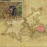 クォーツドブラン - 東ザナラーンの敵生息場所とドロップ素材(FF14 敵素材マップ:新生エリア)
