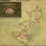 モラビーモール - 低地ラノシアの敵生息場所とドロップ素材(FF14 敵素材マップ:新生エリア)