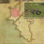 ジャッカル - 中央ラノシアの敵生息場所とドロップ素材(FF14 敵素材マップ:新生エリア)