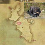 ウーンデッド・オーロックス - 中央ラノシアの敵生息場所とドロップ素材(FF14 敵素材マップ:新生エリア)