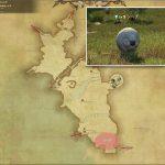 シープ - 中央ラノシアの敵生息場所とドロップ素材(FF14 敵素材マップ:新生エリア)