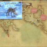 ヒッポグリフ - モードゥナの敵生息場所とドロップ素材(FF14 敵素材マップ:新生エリア)