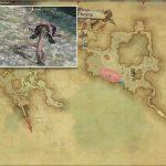 レイクコブラ - モードゥナの敵生息場所とドロップ素材(FF14 敵素材マップ:新生エリア)