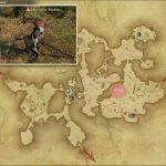 イクサル・ダルタロン - 黒衣森:北部森林の敵生息場所とドロップ素材(FF14 敵素材マップ:新生エリア)