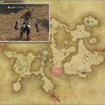 イクサル・ストレートビーク - 黒衣森:北部森林の敵生息場所とドロップ素材(FF14 敵素材マップ:新生エリア)