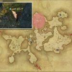 カロング - 黒衣森:北部森林の敵生息場所とドロップ素材(FF14 敵素材マップ:新生エリア)
