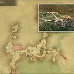 ヤング・クァール - 外地ラノシアの敵生息場所とドロップ素材(FF14 敵素材マップ:新生エリア)