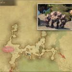 バサルトゴーレム - 外地ラノシアの敵生息場所とドロップ素材(FF14 敵素材マップ:新生エリア)