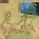 ハイランド・コンドル - 外地ラノシアの敵生息場所とドロップ素材(FF14 敵素材マップ:新生エリア)