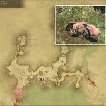 テロック - 外地ラノシアの敵生息場所とドロップ素材(FF14 敵素材マップ:新生エリア)