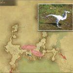 ヴェロキラプトル - 外地ラノシアの敵生息場所とドロップ素材(FF14 敵素材マップ:新生エリア)