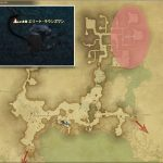 エリート・ラウンズマン - 外地ラノシアの敵生息場所とドロップ素材(FF14 敵素材マップ:新生エリア)