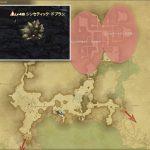シンセティック・ドブラン - 外地ラノシアの敵生息場所とドロップ素材(FF14 敵素材マップ:新生エリア)