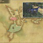 スカード・アンテロープ - 黒衣森:南部森林の敵生息場所とドロップ素材(FF14 敵素材マップ:新生エリア)