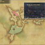 スモールマウス・オロボン - 黒衣森:南部森林の敵生息場所とドロップ素材(FF14 敵素材マップ:新生エリア)