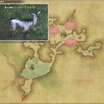 アンテロープ・スタッグ - 黒衣森:南部森林の敵生息場所とドロップ素材(FF14 敵素材マップ:新生エリア)